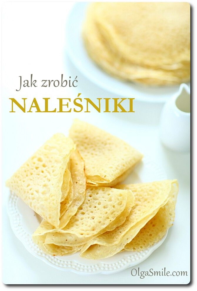 use this recipe for the crepes and use the other one for the filling.  Or serve with jam or cinnamon sugar.  Translate page from Polish