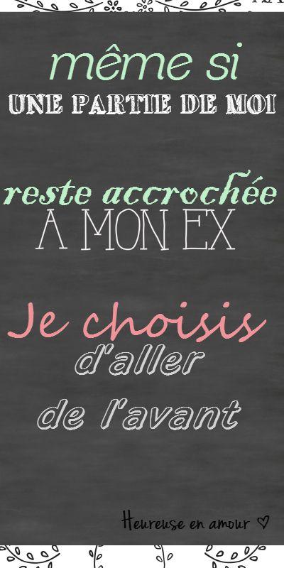 Heureuse en amour - 2 outils originaux et efficaces pour oublier votre ex et aller de l'avant. http://www.heureuse-en-amour.fr/articles/chroniques/guerir-du-passe/comment-oublier-son-ex/