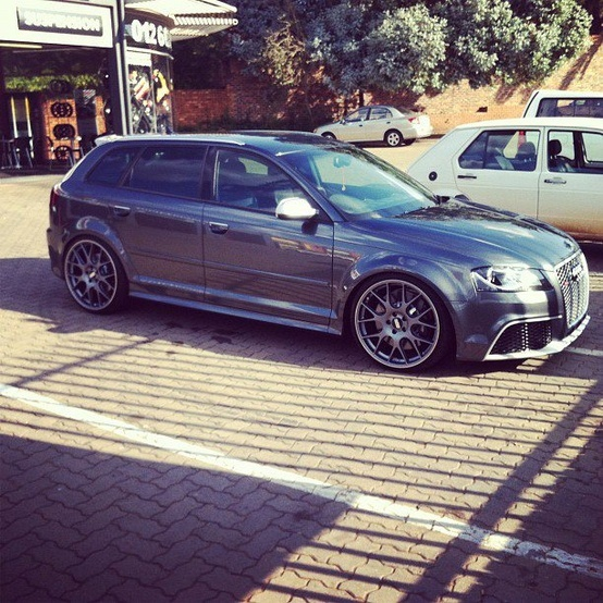 Daytona Grey Audi RS3