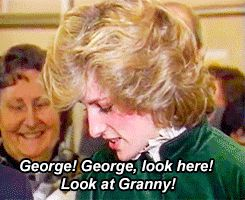 "georgeslays: "" Royal AU Meme: Diana, Princess of Wales survived the 1997 car accident which took her life. """