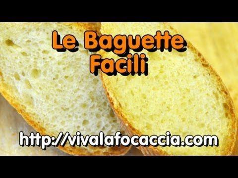 (95) La Video Ricetta Facile del Pane Tipo Baguette - YouTube