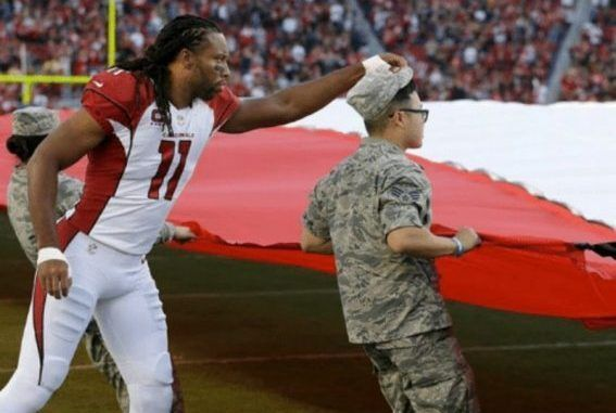 http://ussanews.com/News1/2017/10/24/nfl-player-runs-onto-field-during-national-anthem-stuns-thee-crowd-with-what-he-does-to-soldier/