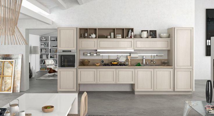#cucine #Stosa #contemporanee #legno #design #stile #qualità #arredamento  Cucina Contemporanea Stosa, modello Maxim