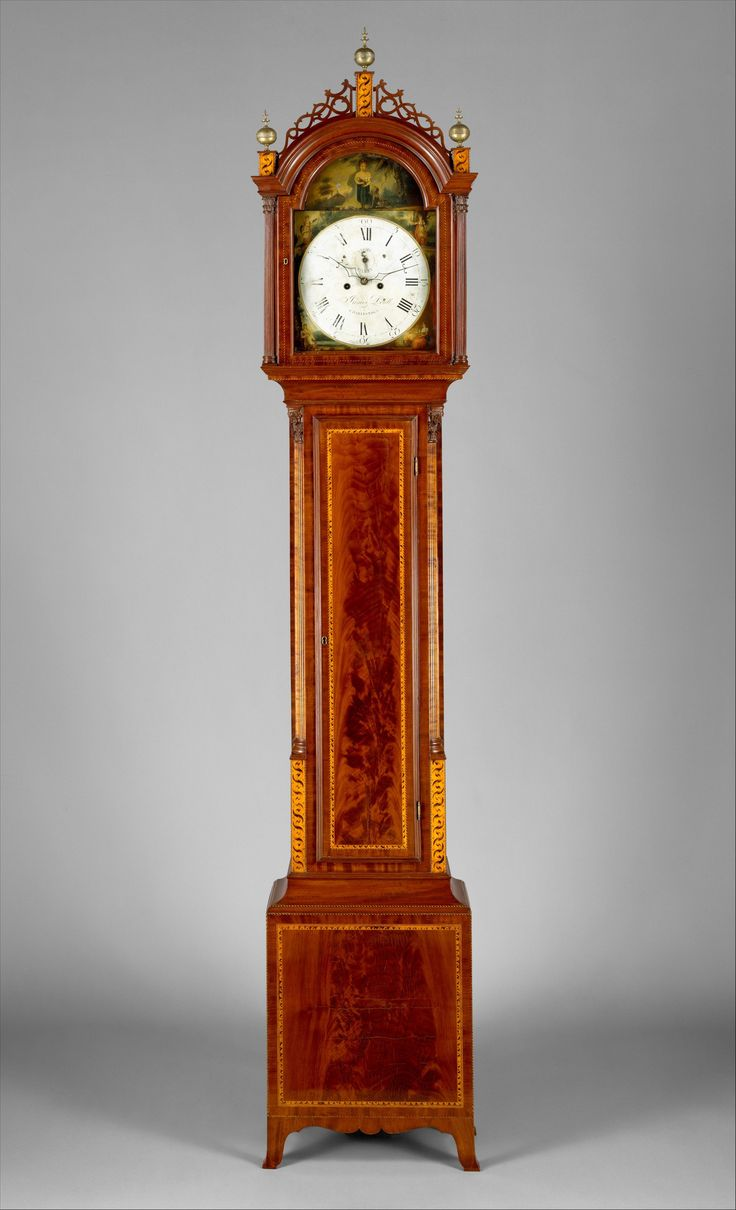 Tall Clock Case Attributed To Thomas Seymour 1771 1848