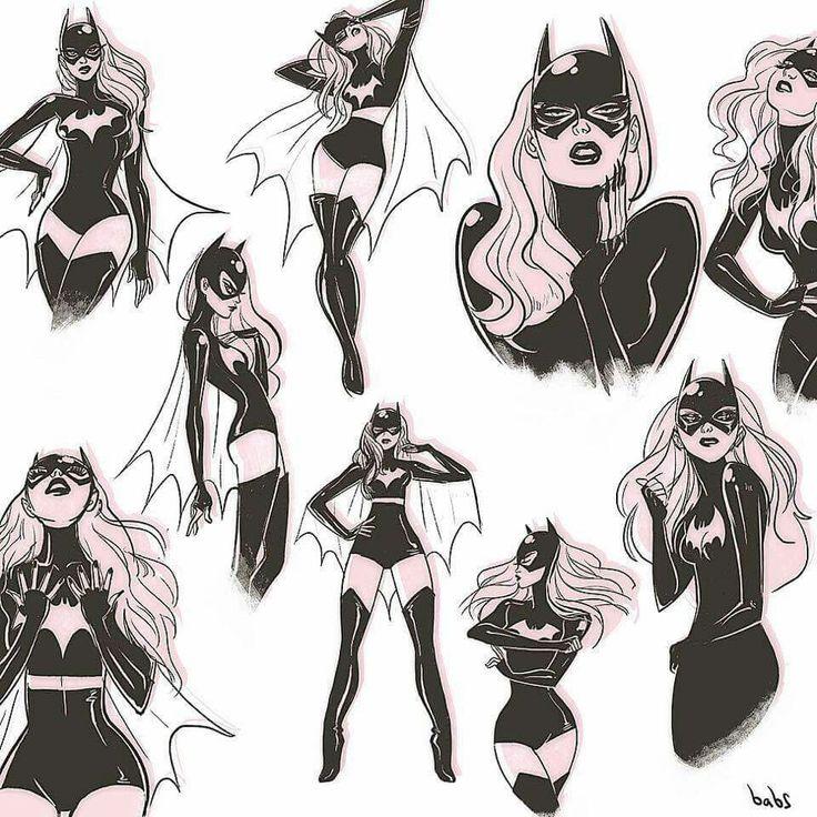 """bear1na: """"Batgirl by Babs Tarr * """""""