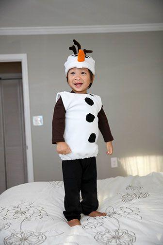 Do you wanna build a snowman?! Costume Tutorial