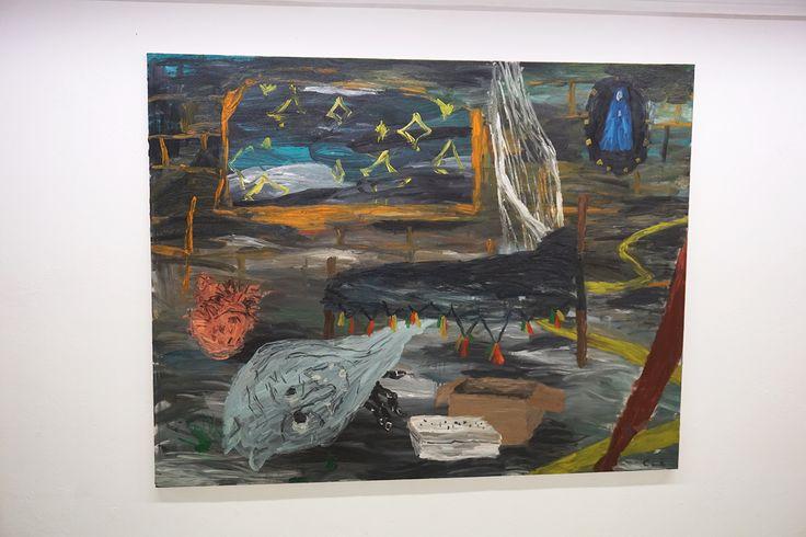 """Entorno a la cama"", Cristina Lama #Expsición ""Alrededores"" #JMGalería #Málaga #Arte #Art #ContemporaryArt #ArteContemporáneo #Arterecord 2016  https://twitter.com/arterecord"