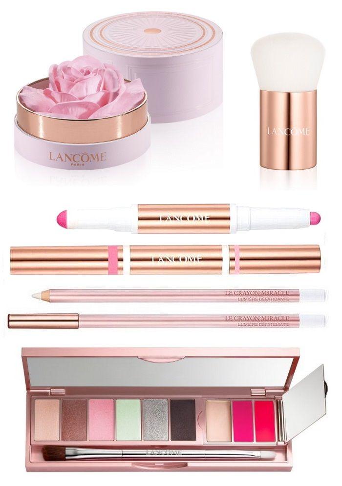 Весенняя коллекция макияжа Lancome 2017, Lancome Absolutely Rose Makeup Collection Spring 2017