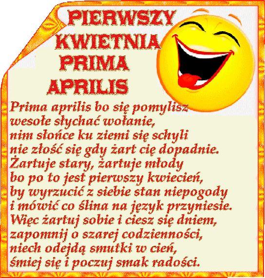 Usmiechnij sie: Animowane gify i obrazki na prima aprilis