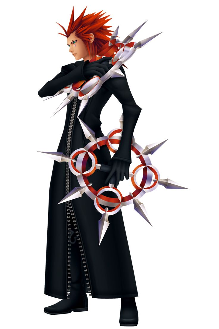 Axel, my favorite character from kingdom hearts