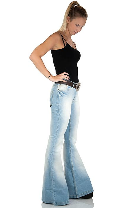 1000  images about FLARE JEANS on Pinterest | Wide leg pants ...