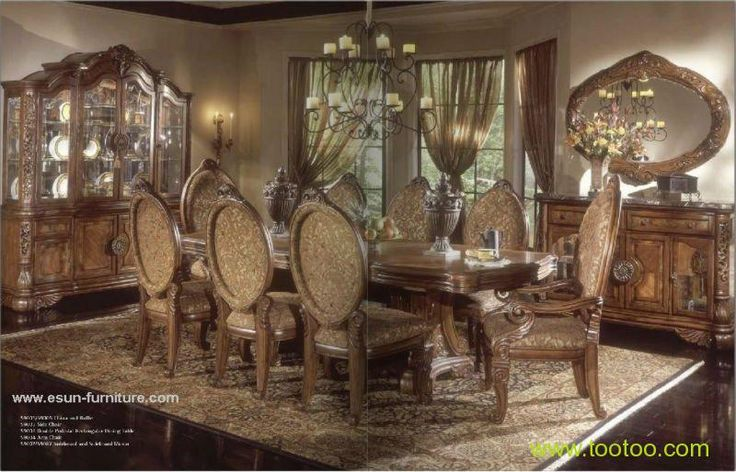 104 best victorian dining room images on pinterest for Best quality dining room furniture manufacturers