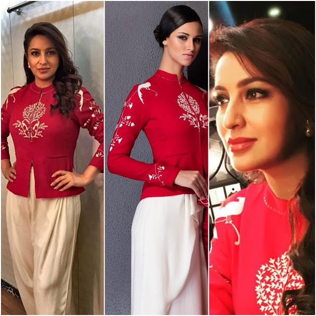 Tisca Chopra's elegant look in AM:PM for Comedy Nights With Kapil... ~ Sha's Inkling
