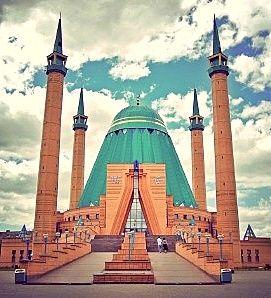 Tevinter architecture concepts --- Pavlodar Mosque. Astana-Kazakhstan.