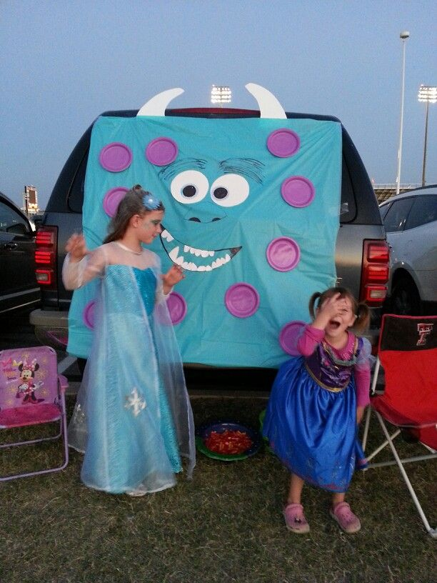 Sully Monsters Inc Trunk Or Treat For Under 3 Blue