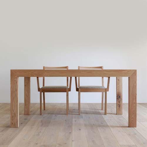 カラメッラ ダイニングテーブル [ オーク ] CARAMELLA dining table(6854) - ヒラシマのテーブル | おしゃれ家具、インテリア通販のリグナ
