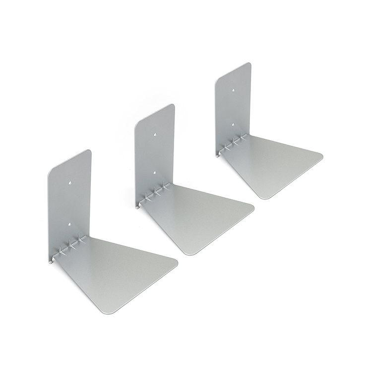 Umbra Conceal Floating Bookshelf, Small, Silver, Set of 3: Amazon.ca: Home & Kitchen