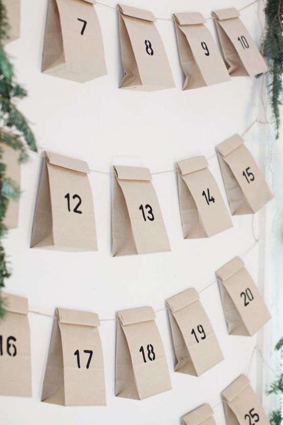 I can't believe I'm pinning Christmas already » easy advent calendar