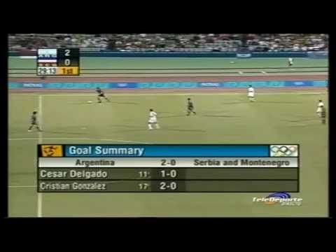 Argentina 6-0 Serbia & Montenegro 2004 Olympic Games