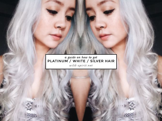 how to get silver hair without bleach