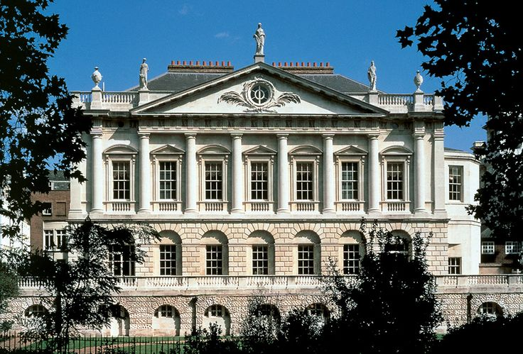 Spencer House, London's most magnificent 18th century private palace as seen from the Green Park.