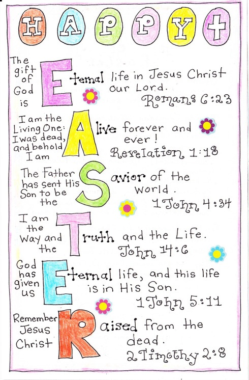 84 best religious easter images on pinterest craft kits easter happy easter printable by the happy home fairy negle Image collections
