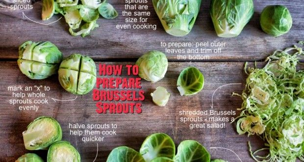 How do you prepare brussels sprouts? Check out these great tips, and get inspired to cook brussels sprouts tonight!