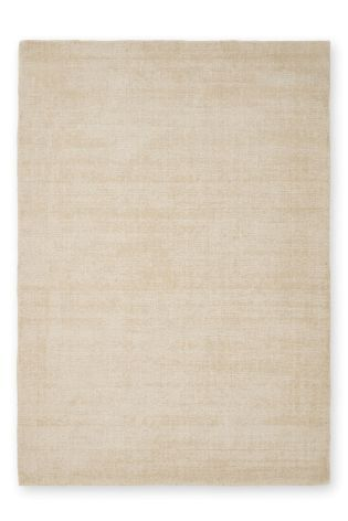 Light Natural Wool Tonal Rug