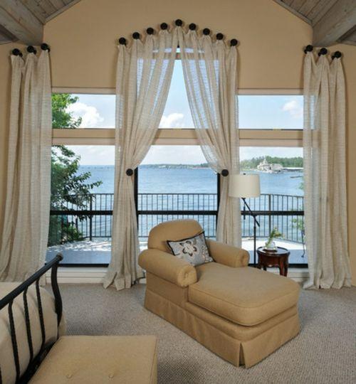 1000 ideen zu lange gardinen auf pinterest extra lange. Black Bedroom Furniture Sets. Home Design Ideas