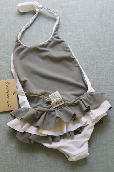 little girl's swimsuit