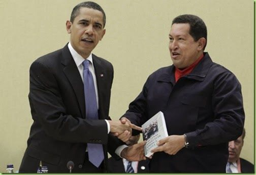 "Hugo (RIP) presents BHO with a book documenting 5 centuries of American and European Imperialism: BHO's response, "" I wrote one of them too."" Venezuela decreed a new price control law that sets limits on company profits and establishes prison terms for those charged with hoarding or ever-charging, part of populist President Nicolas aduro's efforts to tame inflation.Goodness, where do these pragmatic leaders go to economics school, Havana?r"