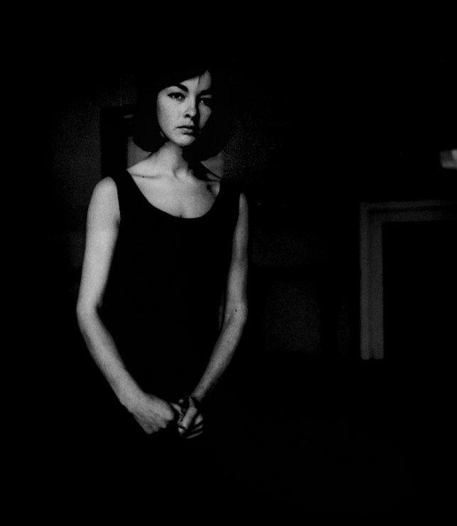Barbara Brylska - aktorka, 1963, fot. Tadeusz Rolke / Agencja Gazeta