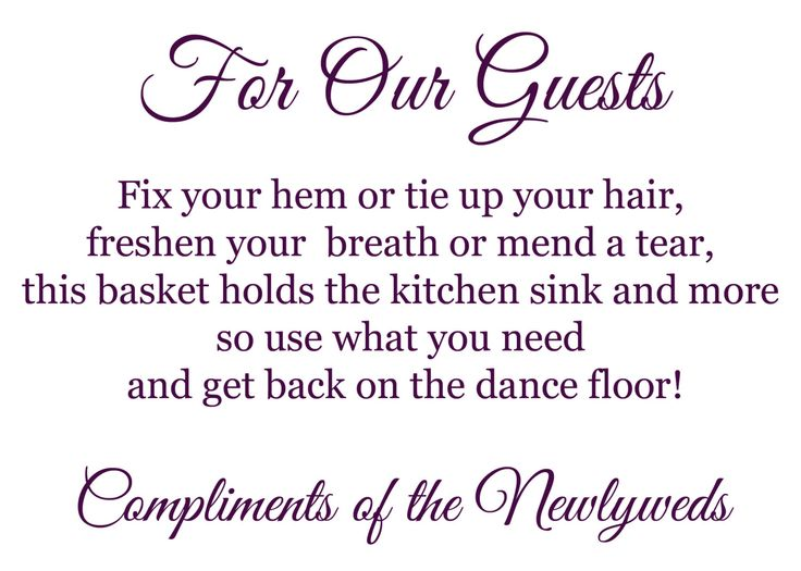 Wedding Bathroom Kit Sign 164 best wedding ideas that are adorable images on pinterest