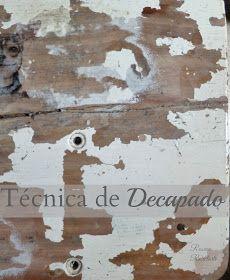 Reciclarte: 3 formas de hacer decapado sobre madera-Segunda Parte