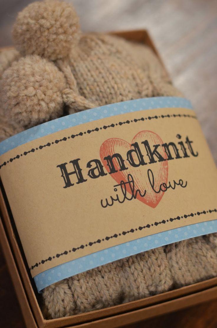 Cobberson & Co. free printable handknit gift tag