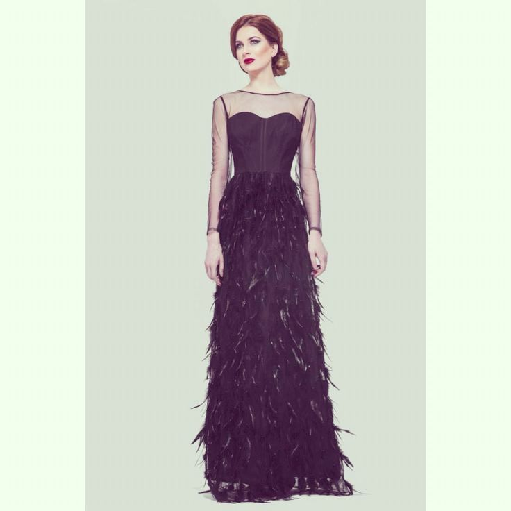 SS 15 Black coat dress Elen's atelier ♠️