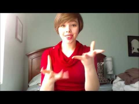 ▶ Do You Wanna Build A Snowman? from Frozen in ASL - YouTube