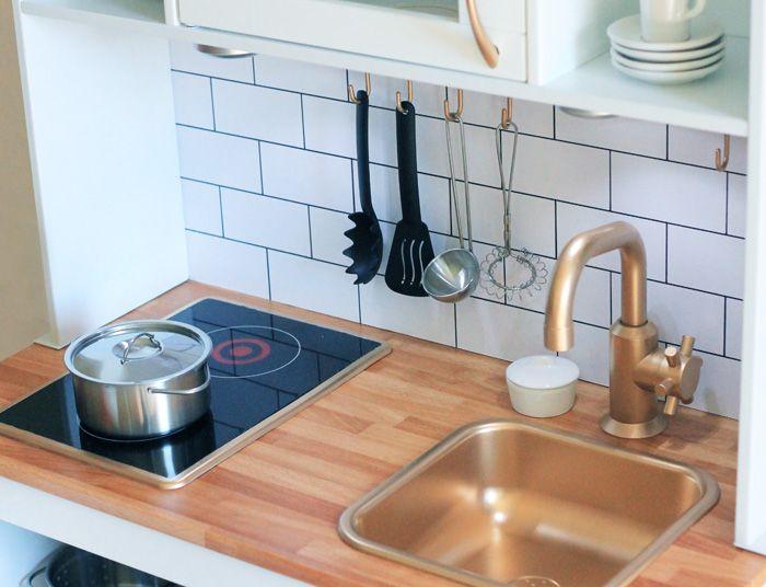 Babiekins Magazine Craftykins // Mini Ikea Kitchen Makeover