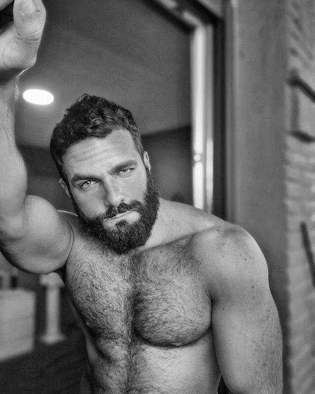 Pin by William Lydon on Beautiful Men | Scruffy men, Hairy men, Gorgeous men