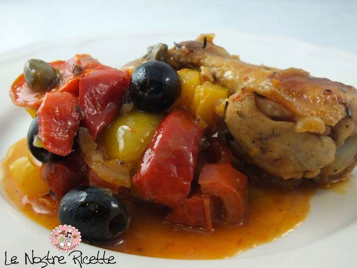 Le nostre Ricette: Pollo ai Peperoni in Agrodolce