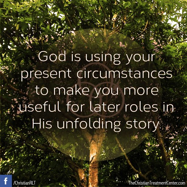 Christian Living: Although Sometimes The Circumstances We Go Through Are So