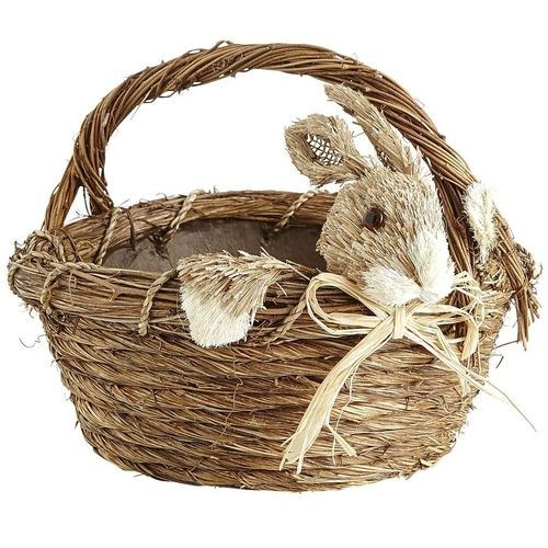Natural #Bunny #Basket from Pier1 on Catalog Spree, my personal digital mall. #Easter