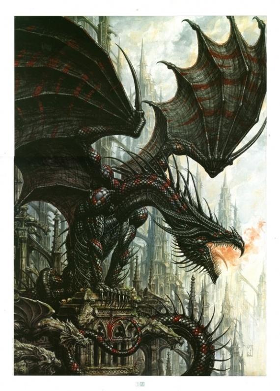 Dragon by Ledroit