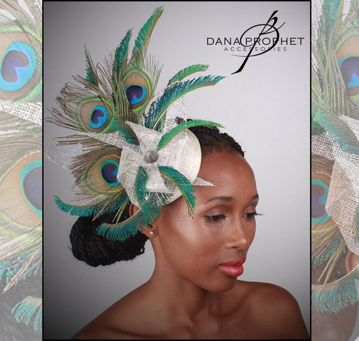 Peacock Pinwheel Sinamay Fascinator. Be the hit of the party with this festive fascinator! Loads of peacock feathers and gold leaf accents.https://danaprophetaccessories.com/fascinators/peacock-pinwheel-sinamay-fascinator/pi  #hat #fascinators #races #durbanjuly #horse #horserace #southafrica #style #kentuckyderby #trending #royal #sinamay #celebrations #weddings #bridal  #bridesmaids #derbyhat #headpiece #melbournecup #royalascot #derbyday #Oaksday #accessories #danaprophetaccessories…
