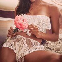 Новые Летние Женщины Цветочные Кружева Короткие 2017 Boho Белый Эластичный Пояс Крючком Выдалбливают Sexy Пляжная Одежда Повседневная Мини Короткие Feminino