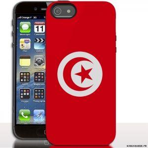 Coque de mobile Apple iPhone SE Tunisie. #coquetelephone #AppleSE #iPhone #Tunisie #drapeau