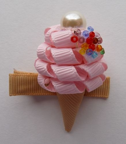 Ice cream bow
