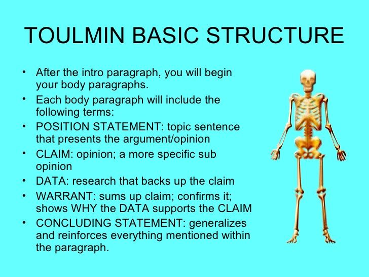 How to Use Toulmin Analysis