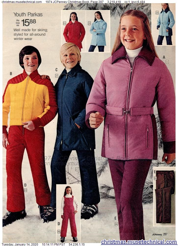 Jcpenney Christmas Illustration 2020 1974 JCPenney Christmas Book, Page 287   Christmas Catalogs