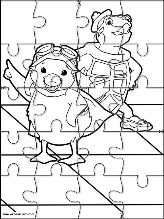 Wonder Pets 5 Printable jigsaw puzzles to cut out for kids – Printable jigsaw puzzles to cut out for kids